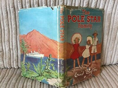 Vintage Enid Blyton book : The Pole Star Family. With dj. 1st edition.1950.