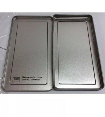 25 American Express Silver Metal Tip Trays Check Presenters New