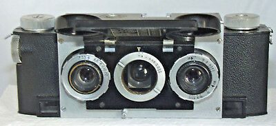 Stereo Realist 35mm 3-D Stereo Rangefinder Camera with Case