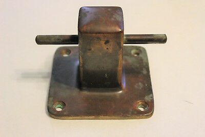 Vintage Brass Boat Cleat.