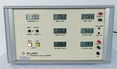 Plint Tecquipment TE4 - EXPERIMENT PHOTOVOLTAIC SOLAR CELLS Electrical Eng