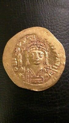Ancient Byzantine Coin Justin Ii, 565-578 Ad Solid Gold Rare