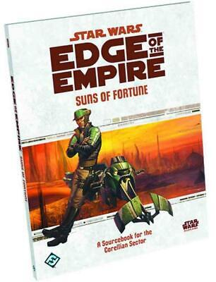 Star Wars Edge of the Empire RPG: Suns of Fortune Sourcebook Free Shipping!