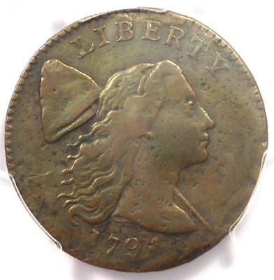 1794 S-27 Liberty Cap Large Cent 1C R5 - PCGS VF Details - Rarity-5 Variety!