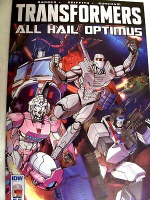 Transformers: All Hail Optimus #55 comic sub cover variant UNREAD ROM