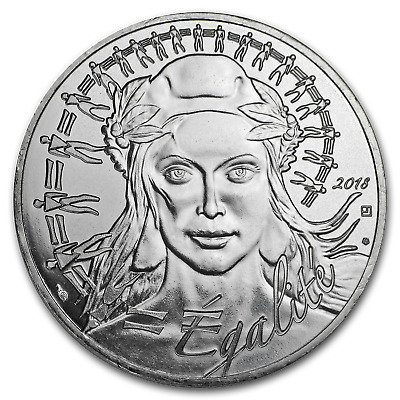 2018 France Silver €20 Marianne (Face Value Coin) - SKU#159531
