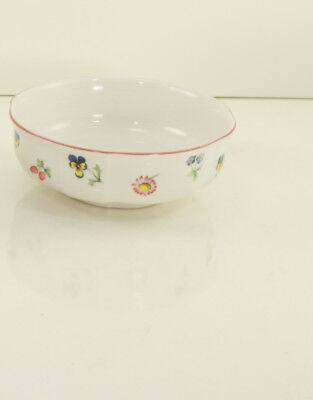 "Villeroy & Boch Luxembourg PETITE FLEUR 4-5/8"" Soup Cereal Bowl Lot Of 1"