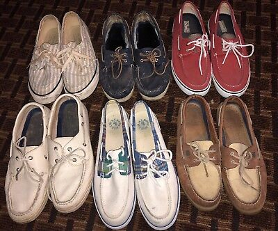 Lot Of Sperry Top Sider Polo Boat Shoe 10.5