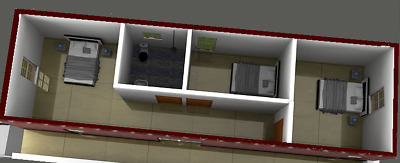 Fully Insulated Transportable Home - 3 Bedroom + Bathroom