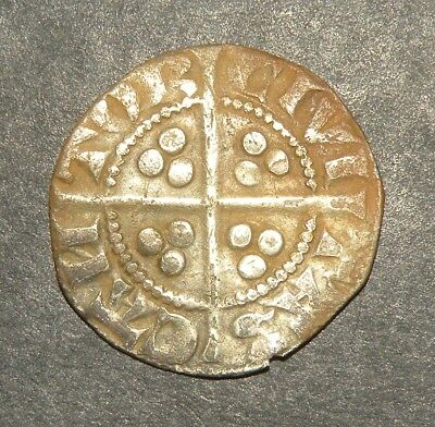 Crusader Cross Templar Coin Silver1200's Europe Medieval Antique England Lot UK