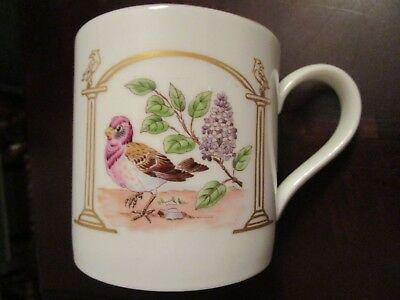 """Boehm Mug """"Birds And Flowers Of The 13 States"""", State Of New Hampshire [*207]"""