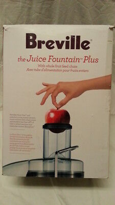 Breville The Juice Fountain Plus JE98XL juicer extractor 850 watt