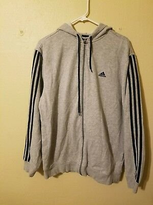 Vintage Adidas Hooded Sweater Boys size large