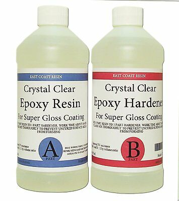1kg Low Viscosity Ultra-Clear Epoxy Resin [UV Resistant] 1:1 Ratio