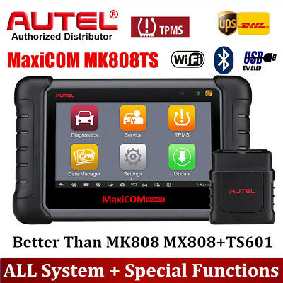 Autel MK808TS OBD2 Scanner Auto Diagnostic Tool Code Reader ABS SRS All System