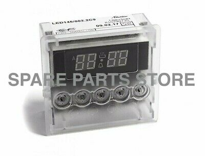 Smeg Genuine Oven Cooker Digital Programmer Clock Timer 5 Button 816291317
