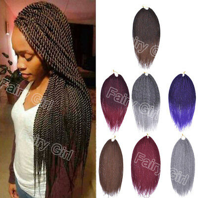 "18"" Havana Mambo Twist  Xpression Ombre Synthetic Jumbo Crochet Braiding Hair"