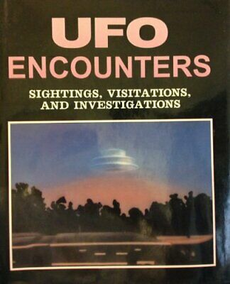 UFO Encounters, Sightings and Visits by Clark, Jerome Paperback Book The Cheap