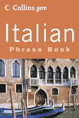 Italian Phrase Book (Collins Gem) by HarperCollins Publishers Limited Paperback