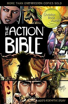 The Action Bible: God's Redemptive Story (Picture Bible) by Doug Mauss Hardback