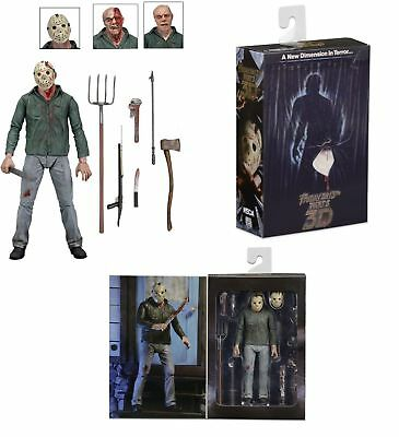 """Friday the 13th Part 3 Ultimate Jason Vorhees 7"""" action figure (NECA)  IN STOCK"""