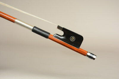 A Top Genuine Pernambuco Cello Bow,Silver! Special offer!