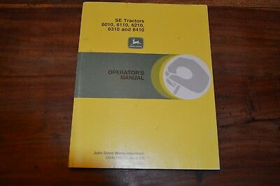 John Deere 6010 6110 6210 6310 & 6410 SE Tractors Operators Manual (2)