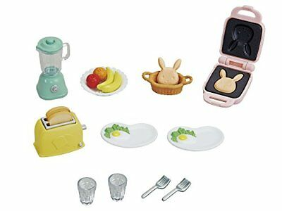 Epoch Calico Critters furniture delicious breakfast set Japan