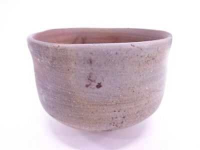 3455692: JAPANESE TEA CEREMONY / CHAWAN(tea bowl) / BIZEN WARE / ARTISAN WORK