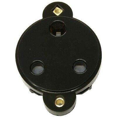 15 Amp Panel Mount Socket Insert Black **free Delivery**