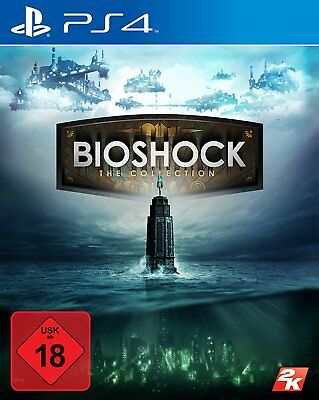 PS4 Game Bioshock - The Collection with Bioshock 1+2+Infinite NEW