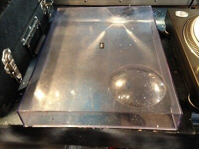 Technics 1200/1210 Turntable Lid / Dustcover. Good Condition (minor Scratches)