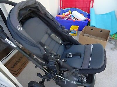 Jane Crosswalk pushchair pram with raincover and accessories