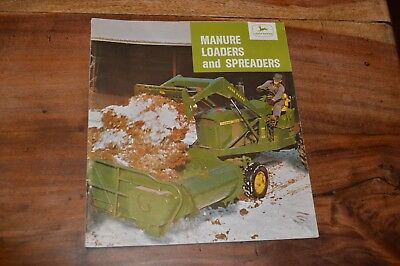 John Deere Manure Loaders and Spreaders Leaflet 1965 (1)