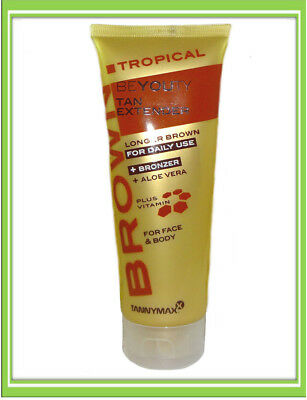 €4,00/100ml Tannymaxx Brown Tropical Beyouty Tan Extender Aftersun Solarium