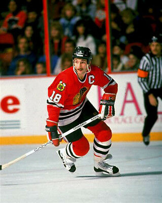 Denis Savard Chicago Black Hawks 8x10 Photo