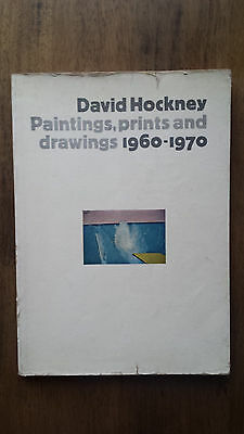 David Hockney – Paintings, Prints and Drawings (1st/1st UK 1970) early catalogue