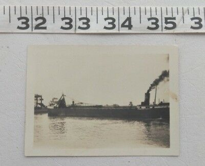 Antique Photo Ship Charles C. West Reiss Coal Co Emory L. Ford Youngstown 1930