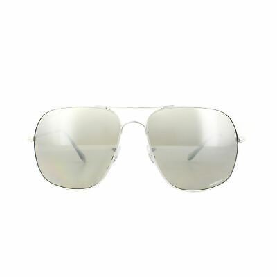 Ray-Ban Sunglasses 3587CH 003 5J Silver Polarized Silver Mirror Chromance 2378c9c35138