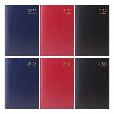2018-2019 A4/A5 Size Week To View/Day A Page Academic Diaries