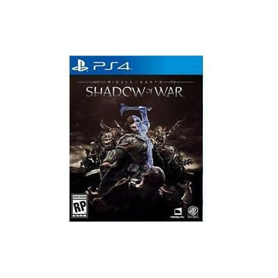 NEW Middle Earth Shadow War PS4 Software Warner Brothers 1000640755 58378