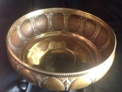 Antique Arts And Crafts WMF Germany Fruit Bowl