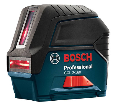 Bosch Tools GCL 2-160 Self-Leveling Cross-Line Laser with Plumb Points - $224