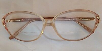 f0bbe0a197ab BLUE RIBBON FOR Marchon Rx Eyeglasses BR16 Brown Mosaic 52/13/130 ...