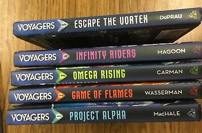 Voyagers Book Series Hardcover Books 1-5 in Excellent Condition