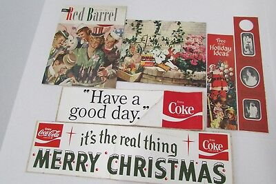 Vintage Coca Cola Coke Soda Ephemera Collectibles Large Lot