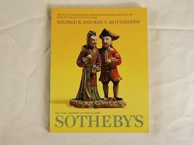 Sotheby's 2000 Auction Catalog Mottehedeh Chinese Works of Art NR