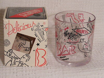 Gilbey's Plastic Cocktail Tumbler Glass in the Box 1993