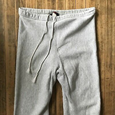 Vtg Lands End x Champion Reverse Weave Sweatpants - Size Large / XL, Made in USA