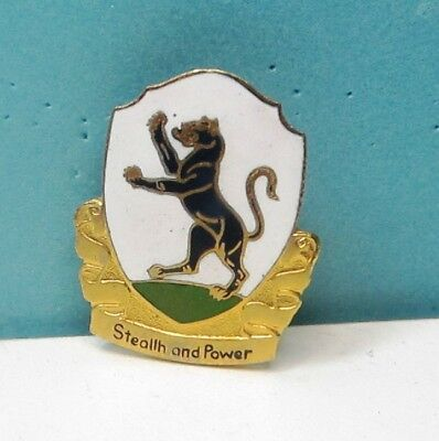 92nd RCN SQUAD DUI PIN - CLUTCH BACK- PART OF THE 12th ARMORED DIVSION.